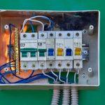 faulty switchboard